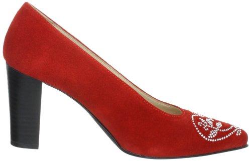 Diavolezza Mila 9501 Dame Pumps Rød (rød) DzJ6v6