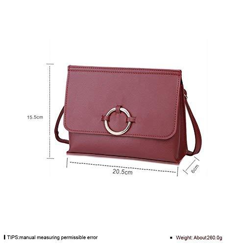 zoals maat Satchel tas vierkante Fashion Fashion Eeayyygch getoond kleur grijs Twq0OOxz