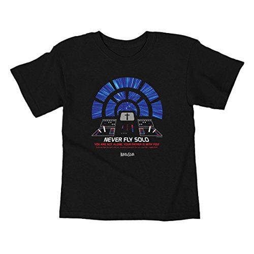 Kerusso Activewear Kdz1855md Flying Solo Kids T-Shirt, Medium KDZ1855MD
