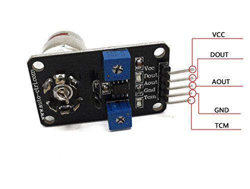 1 pcs lot 0-2V voltage output gas module MG811 CO2 carbon dioxide sensor