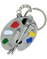 Artist Art Pallet Keychain