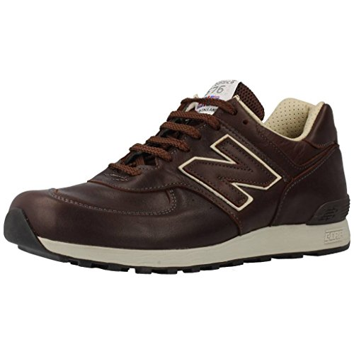 NEW BALANCE M 576 CBB Leather Brown Made in England Limited Edition Marrone