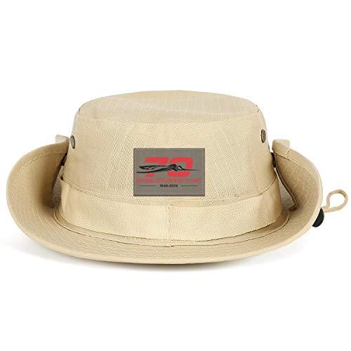 Kseerbaball Unisex Fishing Hat Skeeter-70th-Anniv-Logo-cameosa Leisure Athletic Wide Brim Boonie Caps ()
