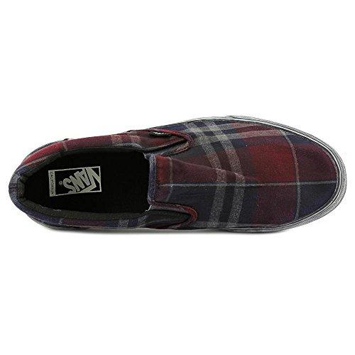 ... Vans Menns Klassiske Slip-on Ca Overwashed Pledd Ankel-høy  Skateboardskoen Port Royal ...