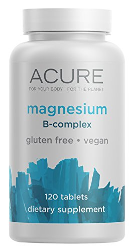 ACURE Magnesium B Complex 120 Count product image