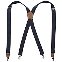 Dockers Men's Textured Solid Suspender