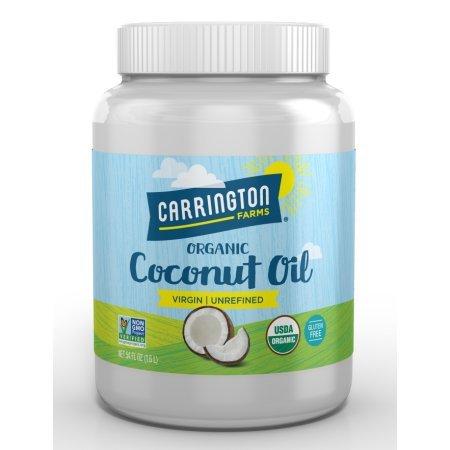 Pack of 6 - Carrington Farms Virgin Unrefined Coconut Oil, 54.0 FL OZ by Carrington Farms (Image #1)