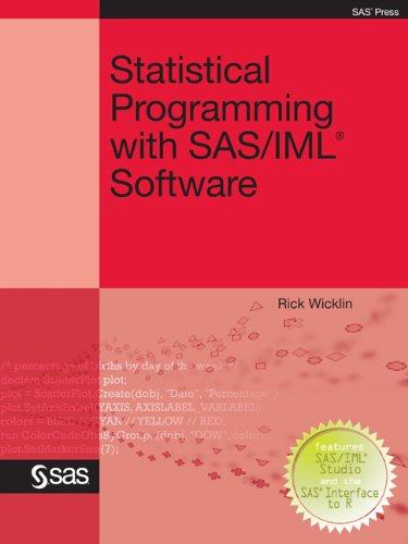 Download Statistical Programming with SAS/IML Software Pdf