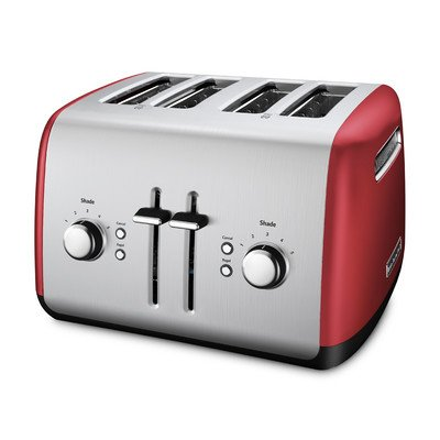 red 4slice toaster - 5