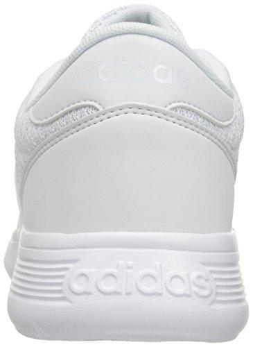 Adidas Prestanda Mens Lite Racer Basket Sko Vit / Vit / Vit