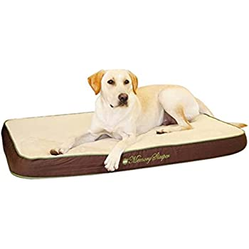 K&H Pet Products Memory Sleeper Memory Foam Pet Bed Medium Mocha 23