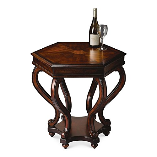 BUTLER 1560024 MARGARET PLANTATION CHERRY ACCENT TABLE
