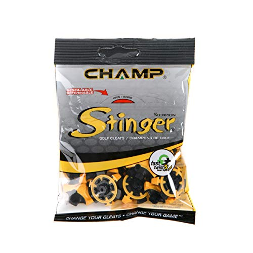 Spikes Champ Scorpion Golf - Champ Scorpion Stinger Slim-Lok Golf Spikes
