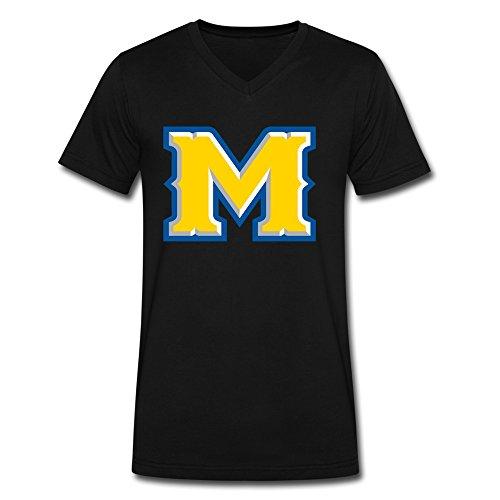 LinYang Mcneese State University Logo V-Neck Shirt For -