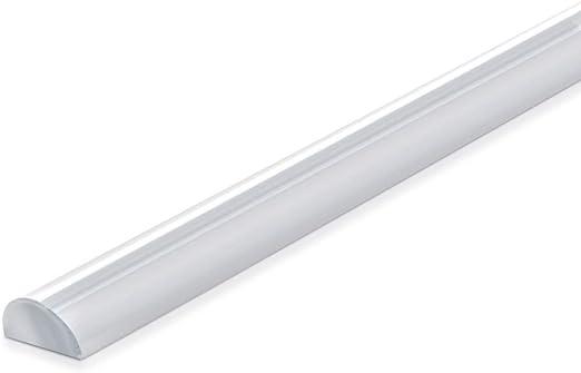 Navaris Junta de repuesto redonda para mampara de ducha - Sello protector de 10x5MM contra salpicaduras - Tira de sellado transparente de 80CM: Amazon.es: Bricolaje y herramientas