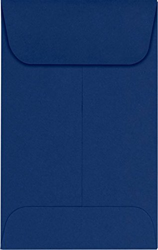 #1 Coin Envelopes (2 1/4 x 3 1/2) – Navy (250 Qty.) | Perfect for the HOLIDAYS, Weddings, Parties & Place Cards | Fits Small Parts, Stamps, Jewelry, Seeds | LUX-1CO-103-250