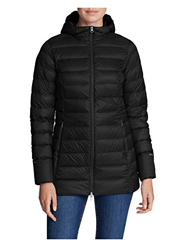 Eddie Bauer Women's CirrusLite 2.0 Down Parka, Black Regular M (Black Down Parka)