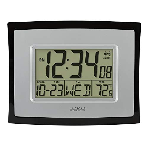 - La Crosse Technology WT-8002U Digital Wall Clock (Certified Refurbished)