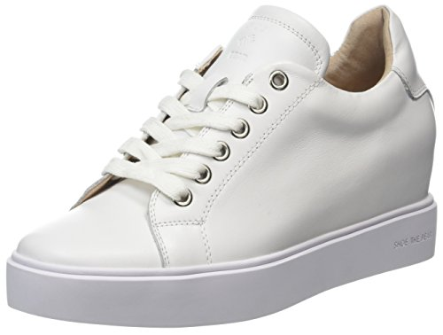 Women's White White Sneakers L Ava Top Shoe 120 Bear Low the qSzRwaE