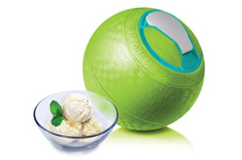 Yaylabs SoftShell Ice Cream Ball, Lime, quart