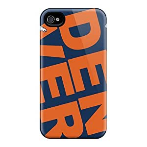 New Style DaMMeke Hard Case For Iphone 5C Cover Denver Broncos Tilted