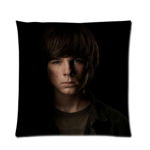 [Pandora Star The Walking Dead Carl Grimes Chandler Riggs Custom Zippered Pillow Case Cover 18x18 (one side print) by Cartoon] (Bbc Costume Drama Movies)
