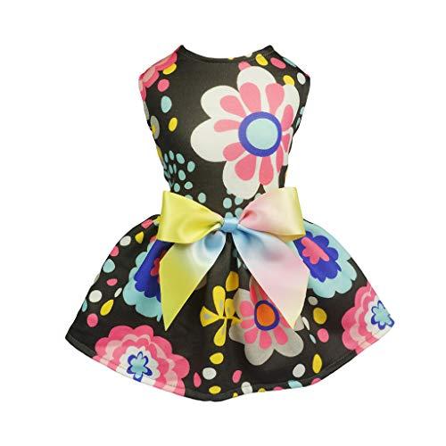 (Fitwarm Pet Clothes for Dog Dresses Sundress Cat Vest Shirts Apparel Small)
