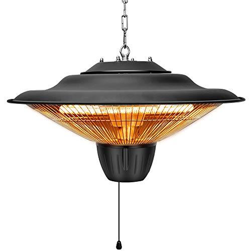 TRUSTECH Patio Heater – Outdoor Heater, 1500W, Ceiling Mounted, Waterproof, Outdoor or Ind ...