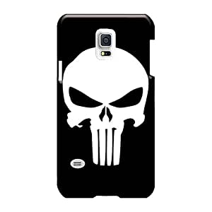 Customcases88 Samsung Galaxy S5 Mini Bumper Cell-phone Hard Cover Customized Beautiful Punisher Logo Pictures [bqb2748OCqD]