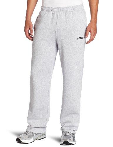 Asics Men's Fleece Pant, Heather Grey, Large