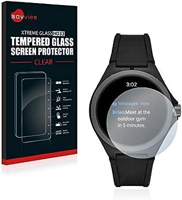 savvies Cristal Templado Compatible con Puma Gen 4 Heart Rate ...