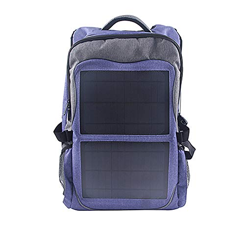 Sarrvad Portable Outdoor Solar Backpack 12W Dual USB   Solar Panel Battery Charger for iPhone, Camera, Powerbank and Other Android Phone