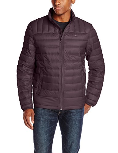 Mens Puffer (Tommy Hilfiger Men's Packable Down Jacket (Regular and Big & Tall Sizes), Port, X-Large)
