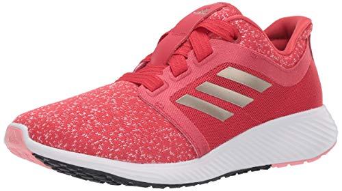 adidas Women's Edge Lux 3 Running Shoe, Glory red/Cyber Metallic/Glory Pink, 11.5 M US