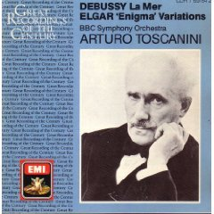 Toscanini and the BBC Symphony Orchestra: La Mer / Enigma Variations