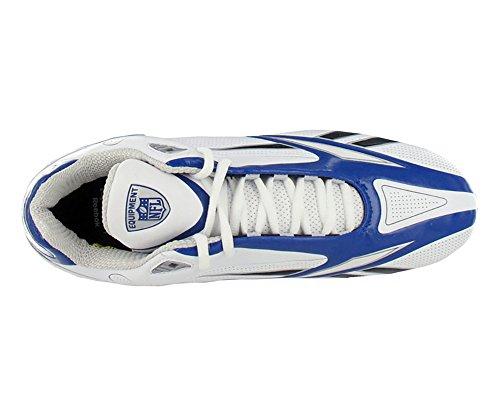 Reebok Mens Pro Burner Speed 5/8 Quag Fb Turf Scarpe Da Calcio Bianco / Dark Royal