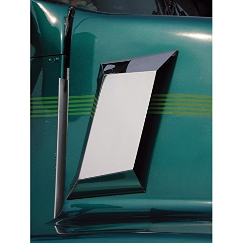 United Pacific 29040 Stainless Air Intake Cover (Kenworth T600/T800)