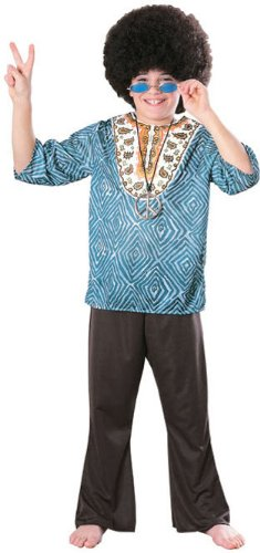 Rubie's Boys 'Feelin Groovy Dashiki' Halloween Costume, Blue/Black, S