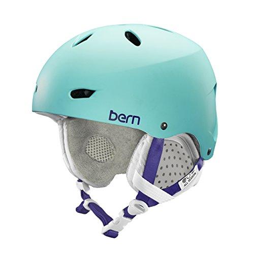 Bern Brighton EPS Thin Shell Helmet - Women's Satin Seafoam/Grey, M (Sea Satin Grey)