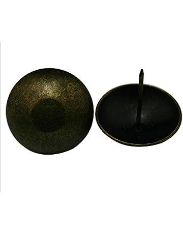 SUPVOX 100 piezas de tapicer/ía antigua u/ñas 10 por 15 mm tapicer/ía tachas muebles clavos pernos Surtido Kit
