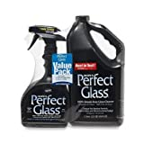 Hope's Perfect Glass Cleaner, 2 Piece, 32 Oz. Spray Bottle and 64 Oz. Refill Bottle
