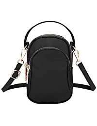 Women Waterproof Nylon Small Crossbody Bags Cell Phone Purse Smartphone Wallet With Handy Carry