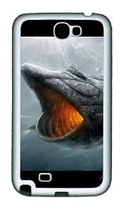 3D Mechanical Giant Shark Personalized Samsung Galaxy Note 2/ Note II/ N7100 Case and Cover - TPU - BlackKimberly Kurzendoerfer