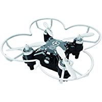 Owill FQ777 124+ 4CH 6-Axis Gyro RTF 3D Eversion RC Pocket Quadcopter Drone Night Flight Led Toy (Black)