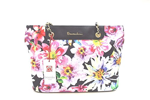Black Top handle Women's Bag Braccialini wXxq7UCSC