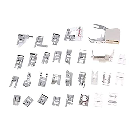Sewing Kit 40pcs Set Domestic Sewing Machine Presser Feet Kits Best Brother Sewing Machine Presser Foot Types