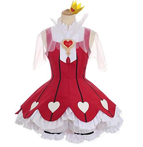 (Poetic Walk Sakura Clear Card Cosplay Card Captor Sakura OP2 Heart of Rose Gamble Lolita Dress (X-Large,)
