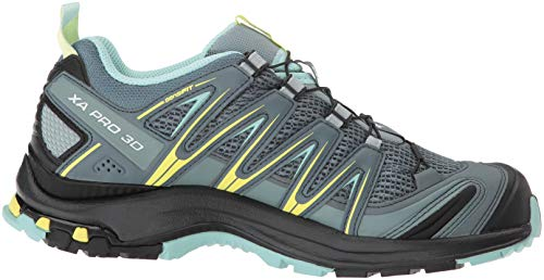 Eggshell W Grey Women's Salomon Blue Eggshell Lead Lead Trail Shoes Blue Weather Stormy Pro Stormy 3D Weather Xa Running wS8I7S