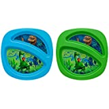 Disney The Good Dinosaur Sectioned Plate, Colors May Vary