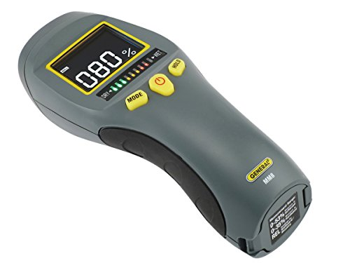 General Tools LCD Moisture Tricolor Bar